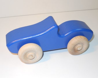 Toy Wooden Car Corvette