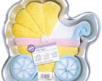 Wilton Baby Buggy Cake Pan