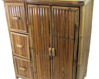 "Bamboo Cabinet, 31""Wx 18""Dx 40""H, BC-40S"