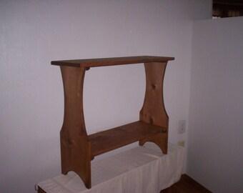 Sofa Table, Behind the Sofa Table