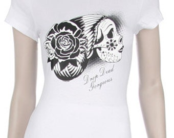 Drop Dead Gorgeous - Day of the Dead Print Shirt