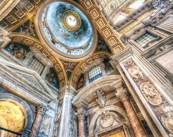 St. Peter's Basilica, The Vatican - Fine Art Photograph (Matted)