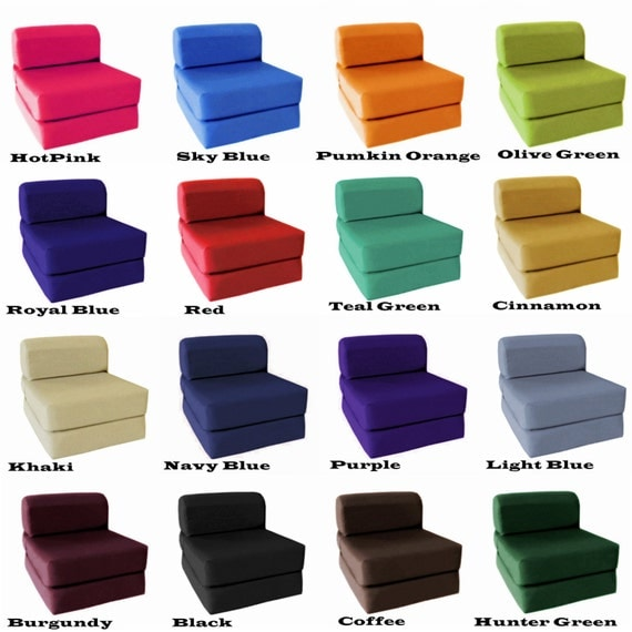 Sleeper Chair Folding Foam by MagshionStyle on Etsy