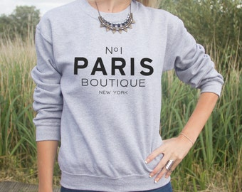 No 1 Paris Boutique Jumper Sweater Fashion Blogger No1 New York