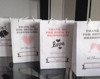 Personlised gift bag