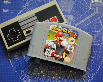 N64 Cart Soap: Retro and geeky! Handmade cartridge controller soap - Mario