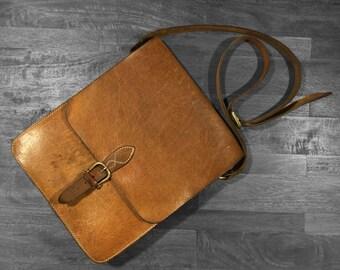The Messenger, Full grain Leather bag