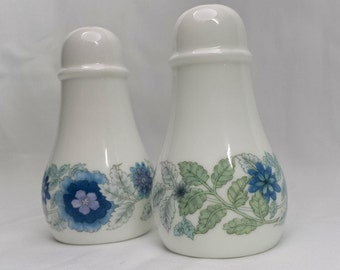 Vintage Wedgewood Clementine Salt & Pepper Shakers Made in England