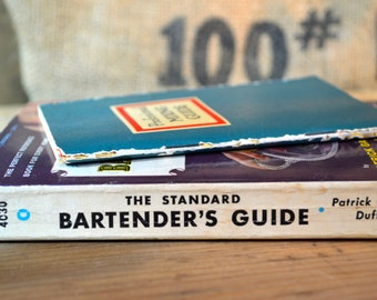 Vintage Bartenders Mixing Guide Book Set
