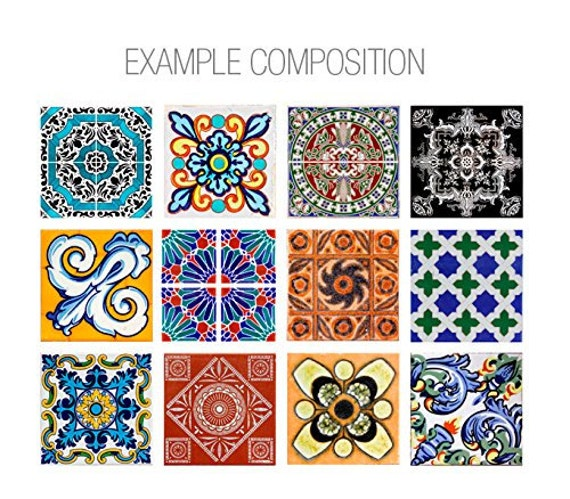 ceramic tile decals for kitchen talavera tiles tile decals tiles kitchen by homeartstickers 8101
