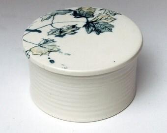 Maple Sugar Jar Maple Leaf  | Sucrier  Feuilles d Érable | 300ml