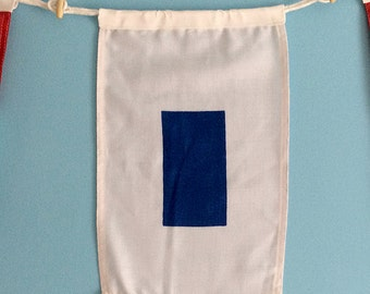 "Nautical Signal Flag - ""S"""