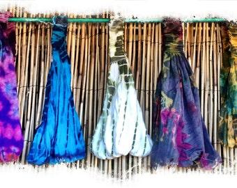 Honey-do: Batik Tie-dye headbands