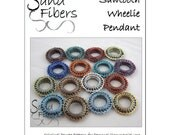 Sawtooth Wheelie Peyote Pendant - A Sand Fibers For Personal/Commercial Use PDF Pattern