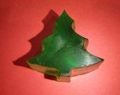 Small Christmas Tree Glycerin Soap