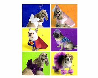 Dog Costumes McCalls 5502 Sewing Pattern UNCUT