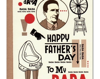 DADA Father's Day Card