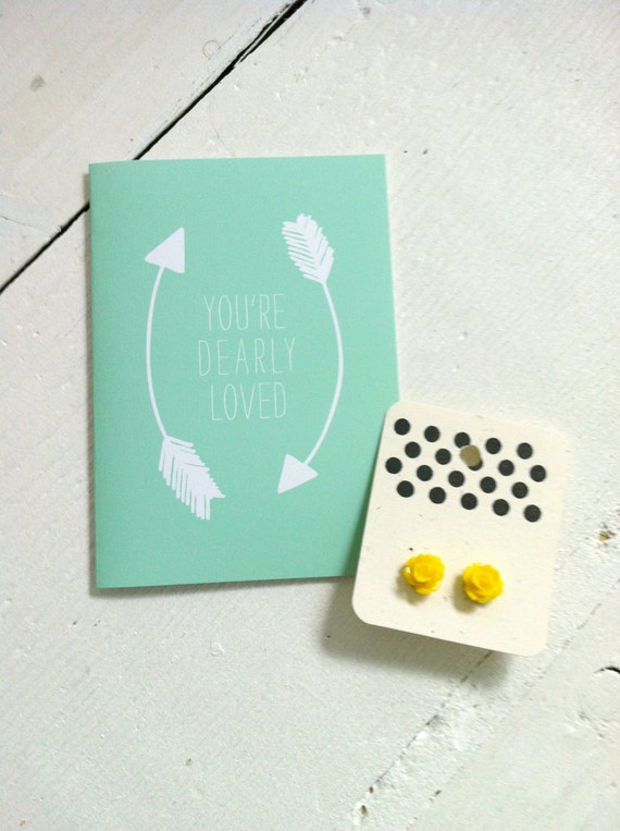 Dearly Loved Card