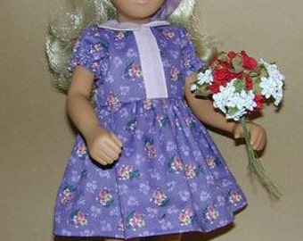 Sasha doll dress pattern - 16 inch doll sewing - Multi Dress PDF 90512