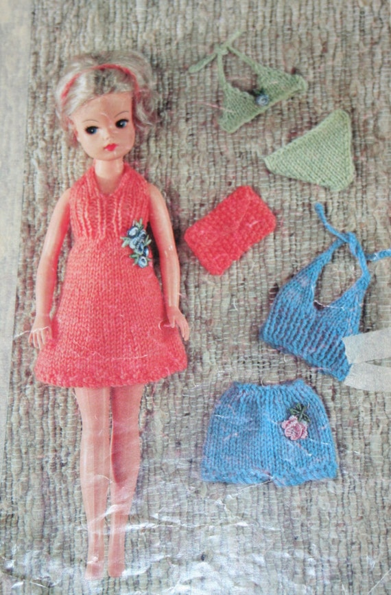 Simple Knitting Patterns For Scarves : Knitting Patterns Doll Clothes Sindy Doll Emu 6691 by elanknits