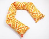 Long Flax Neck or Shoulder Wrap - Hot / Cold Therapy Pack (Use in Microwave or Freezer) - Sunshine Diamonds