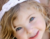 Sailor's Knot Knitted Headband - knitting PATTERN for newborn, baby, children, teens and adults - pdf format