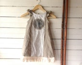 Made to Order Farmhouse Formal Linen Dress
