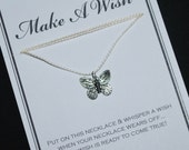 Butterfly Wish Necklace - Buy 3 Items, Get 1 Free