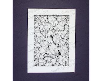 Neurons V Papercutting, Hand-cut Original