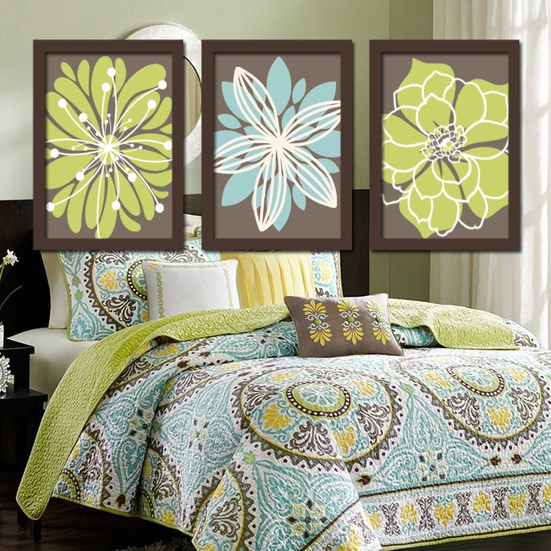 Outrageous Green And Brown Bedroom: Green Brown Bedroom Pictures Bathroom Artwork Bedroom Pictures