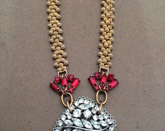 Royal River Statement Necklace