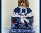Gertrude Handmade Mixed Media Victorian Collage Art Doll