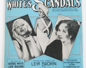 Vintage Sheet Music • My Song Scandals George White • 1931