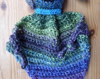 Lovey Bunny Rabbit Comforter Security Blanket baby Crochet