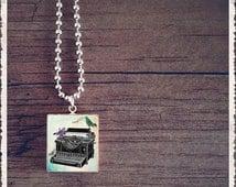 Scrabble Tile Jewelry - Tweet Bird Typewriter - Scrabble Jewelry Charm - Customize - Choose Your Style