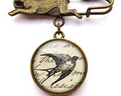 Vintage Swallow Hare Pin Brooch (ER05)