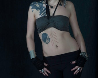 Black Garter Shorts Tribal Fusion Belly Dance Festival Wear