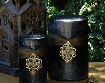 Freyja Goddess Warrior Pillar Candles . Norse Goddess Magick, Shielding, Protection, Love, Courage, Strength