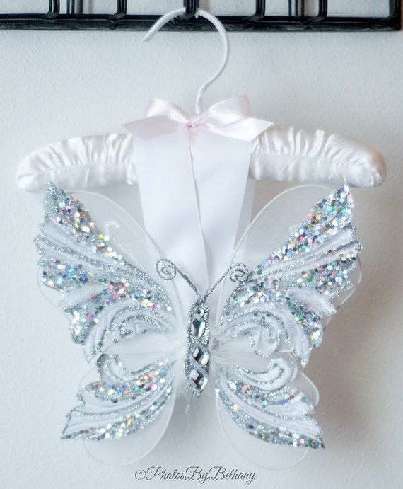 Newborn Butterfly Wings White Baby Shower Gift Angel Photo Prop Christening Costume Outfit Spring Gown Gift Dress