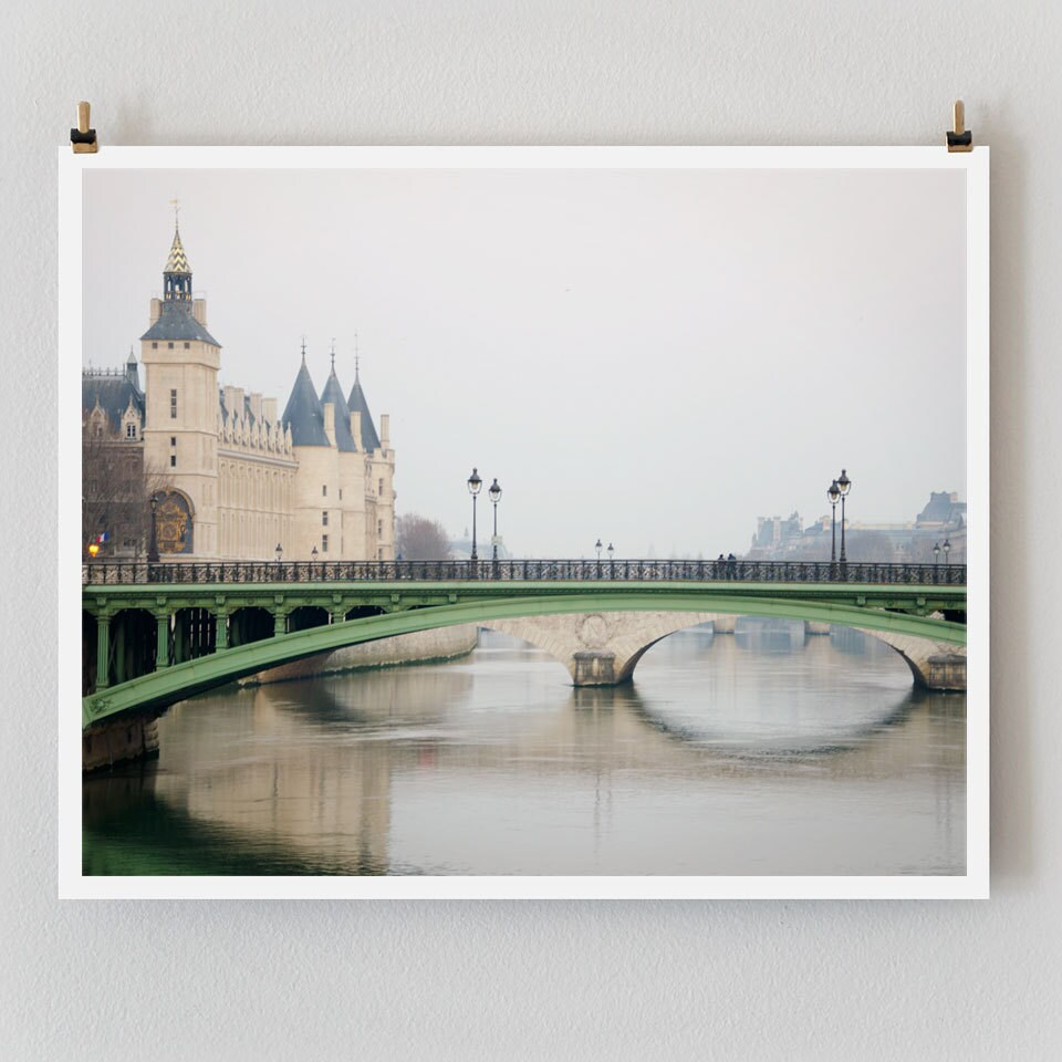 """Paris Photography, """"Conciergerie"""" Paris Print Extra Large Wall Art Prints, Paris Wall Decor"""