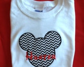 Disney Youth Mickey or Minne Mouse T-shirt