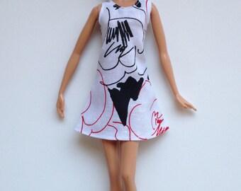 Handmade Barbie Clothes Sundress Designs by P D Reneau (Q408)
