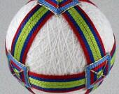 Temari pattern for sale Buckles and Bands Temari