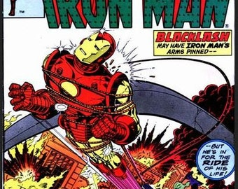 1981 IRON MAN 147 Comic Book from June 1981
