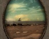 Nautical Decor Ocean Art Sailboat Art Landscape Photography Art for the Nursury Nova Scotia Canada Print - Secret of the Sea