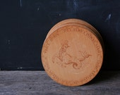 Vintage Zodiac Coasters Set of 12 New Year Party 1970s Made of Wood, from Nowvingates from Etsy