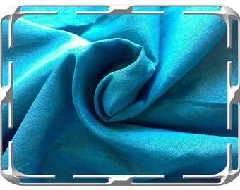 Jungle Green Silk Dupioni Fabric, Bridesmaid Fabric By The Yard, Indian Silk Fabric, Pure Silk Fabric, Indian Fabric, Blue Silk Fabric