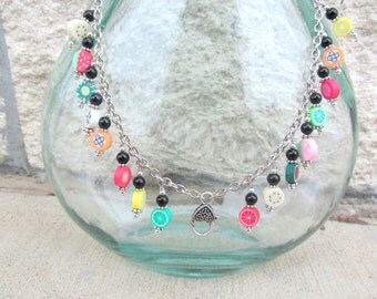 Treasure Keeper Necklace - Fruity Pebbles