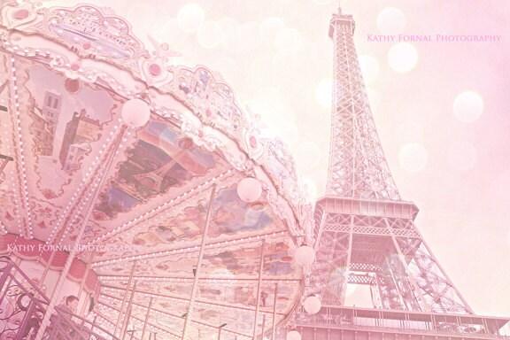 Paris Eiffel Tower Photography Pink Pink Paris Eiffel Tower