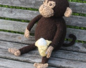 Knit Monkey- Custom order for Julie